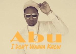 Abu - I Don't Wanna Know (Kizomba) 2016