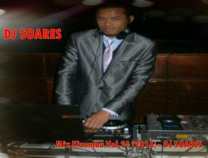 DJ SOARES - Mix Kizomba Vol.21 (2016)