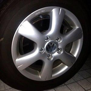VW純正ホイール 15インチ