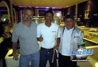 """Bill Steffler, Jesús Díaz """"Biyik"""", Ausencio """"Don Puntería"""" Bravo"""