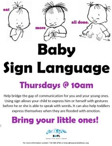 Baby Sign Language @ Buena Vista Public Library | Buena Vista | Colorado | United States