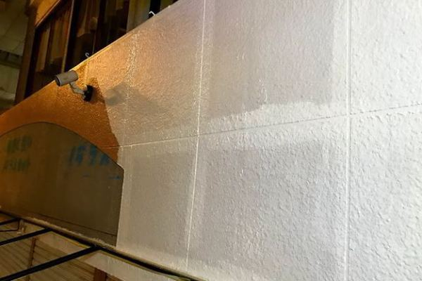 【店舗制作】外壁の塗装ばい★上京町★佐世保市便利屋ブエノ