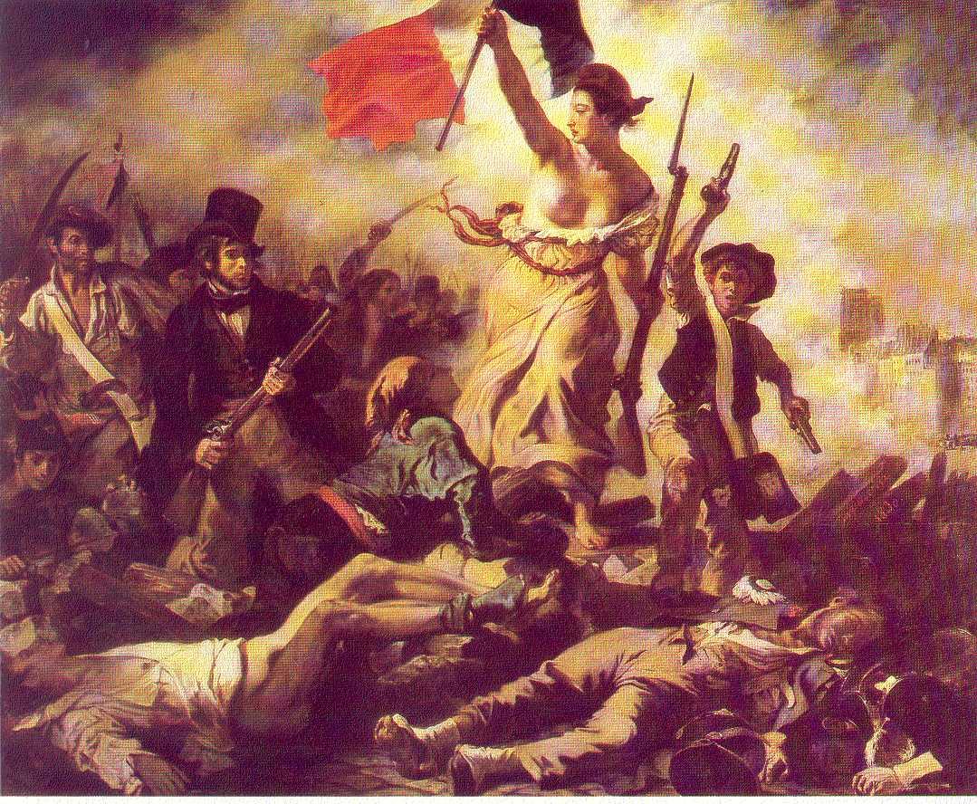 alegoria de la revolución francesa