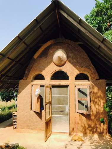 Amazing display of natural building, including our adobe abode here