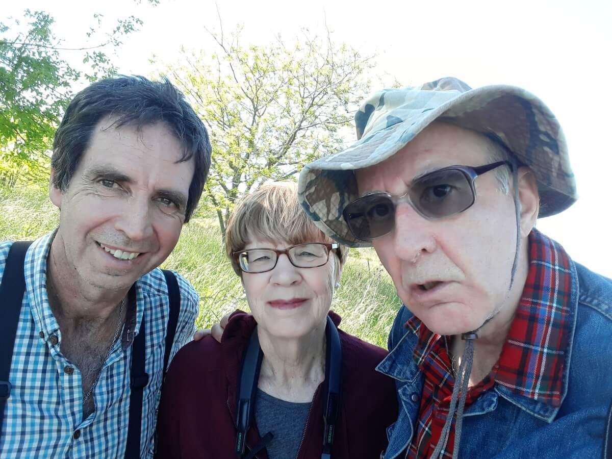 David, Jill and Diego