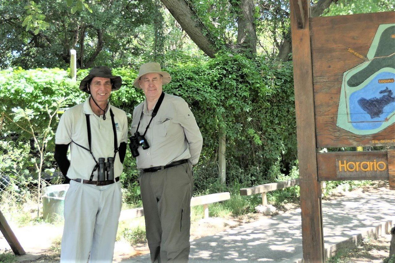 Graeme Davies at Vicente Lopez Reserve.