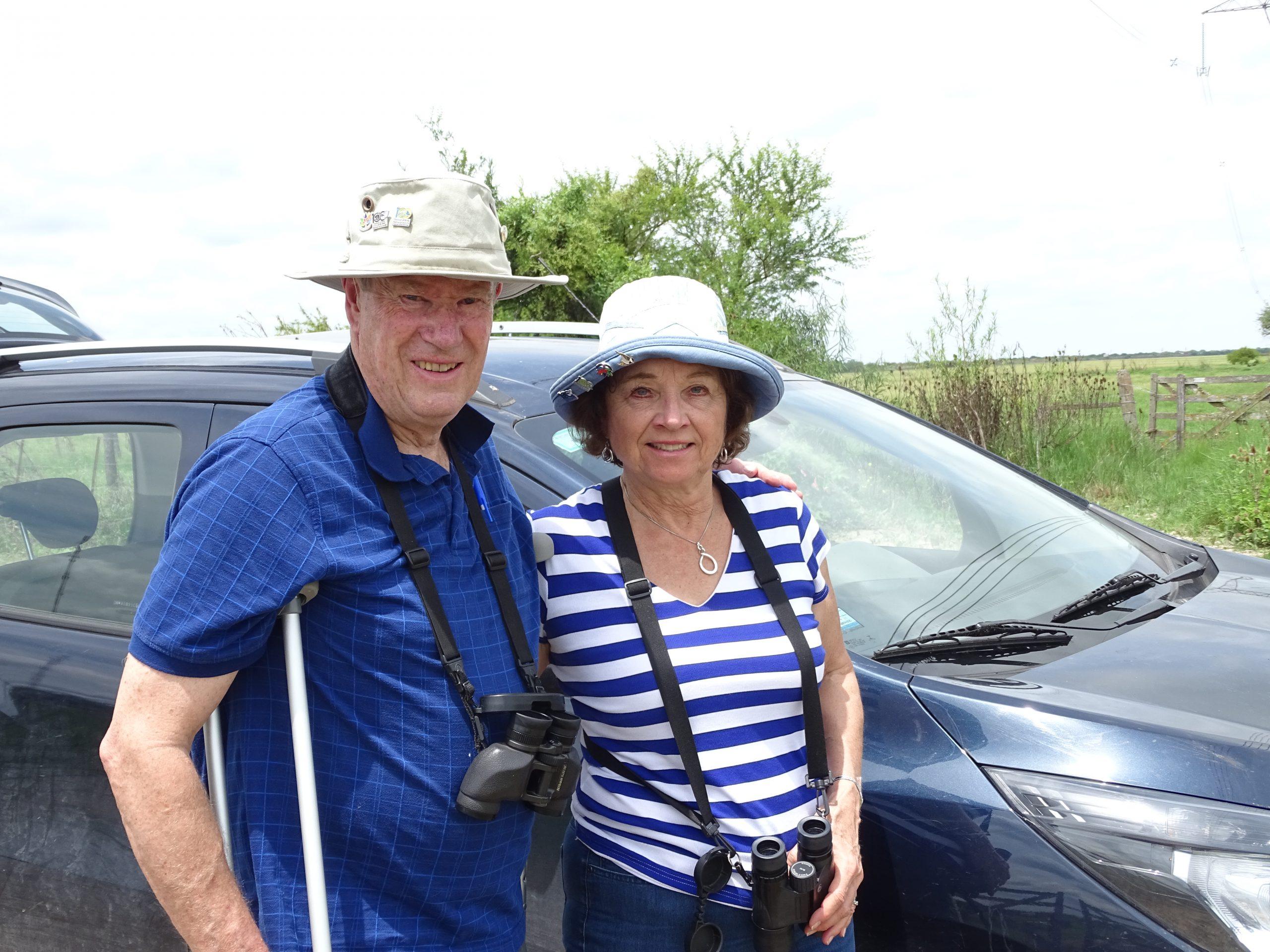 Judy and Doug, February 2019.