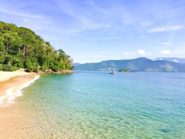 Praia de Japariz Ilha Grande au bresil
