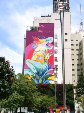 Visiter Sao paulo au brésil - street art
