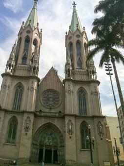 Que voir Sao paulo au brésil - cathédrale de se