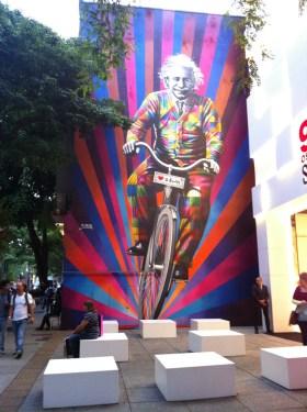 Visiter Sao paulo au brésil - street art kobra