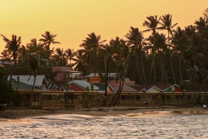 Port des pêcheurs de Las Terrenas en république dominicaine