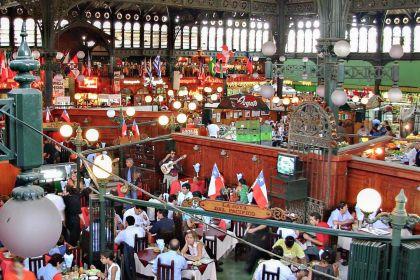 visiter Santiago du chili Mercado central