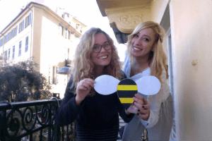 Houda et Clara Beeshary