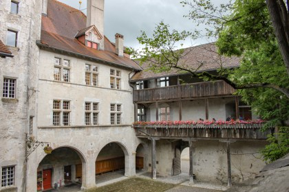 Chateau Gruyères - week-end suisse romande