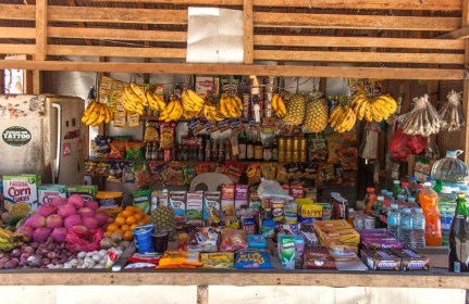 Shop Fruit - île de Siargao aux philippines