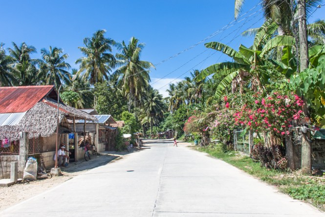 Ruelle General Luna - île de Siargao