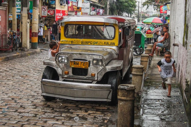 Manille Old Manila Jeepney Voyage Philippines Voyage Philippines