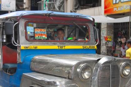 visiter Manille Chinatown Jeepney