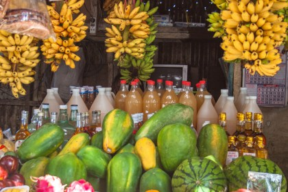 Fruits aux philippines marché