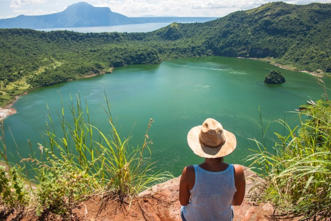 volcan taal VOYAGE PHILIPPINES