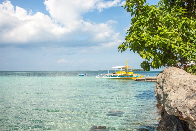 Cebu aux philippines Nalusuan vue
