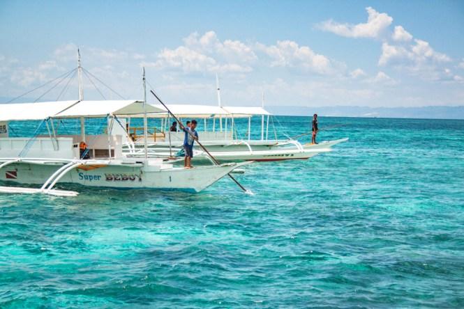 Cebu aux philippines bateau nalusuan