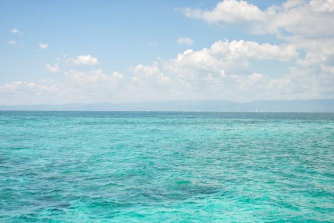 Cebu aux philippines Nalusuan eaux