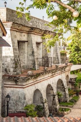 Cebu aux philippines fort de san pedrp