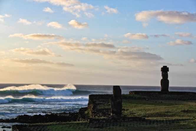 moai Ahu Tahai Visiter l'île de Pâques