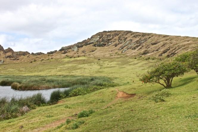 Rano Raraku - ile de Paques