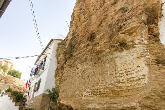 roche Setenil de las Bodegas andalousie