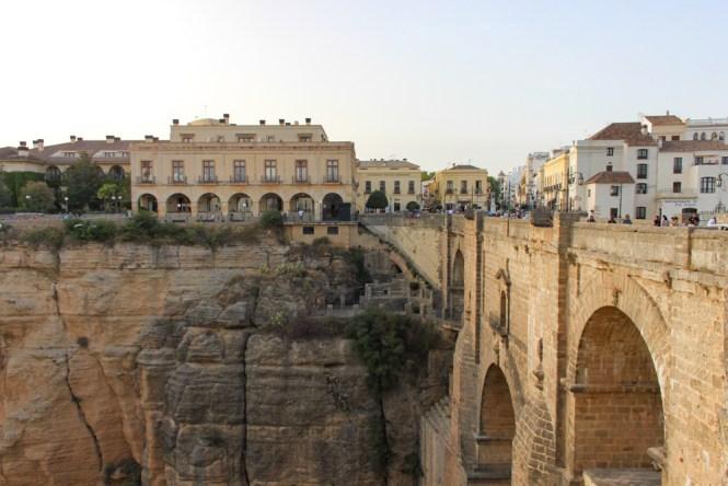 vue Puente Nuevo visiter Ronda en andalousie