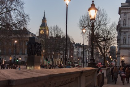Ruelle de Londres Un week end a Londres