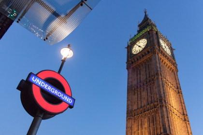 Big ben metro Un week end a Londres