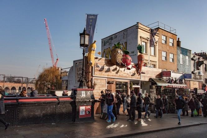 fruit Camden Market Un week end a Londres