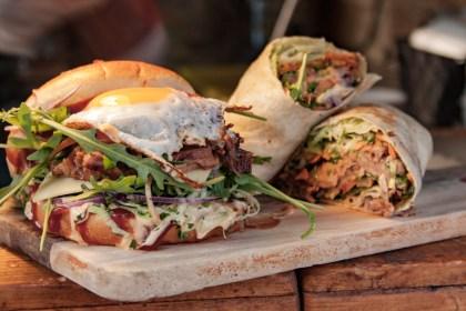 burger Camden Market Un week end a Londres
