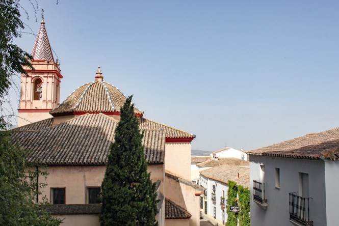 eglise Zahara de la Sierra Andalousie espagne