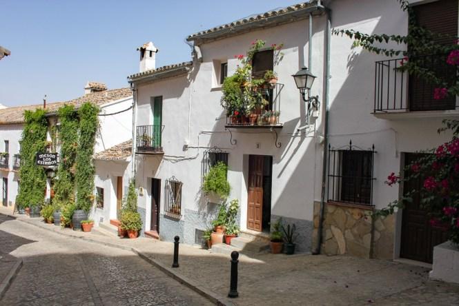 rues de Zahara de la Sierra Villages Blancs Andalousie