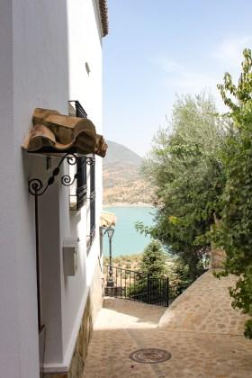 ruelle Zahara de la Sierra andalousie espagne