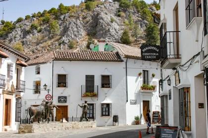 Plaza de toros Grazalema Villages Blancs Andalousie