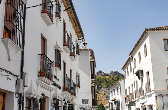 Maison de Grazalema villages blancs andalousie