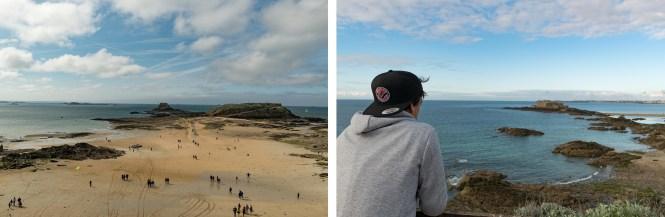 week-end à saint malo plage