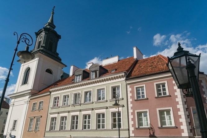 Visiter Varsovie immeubles