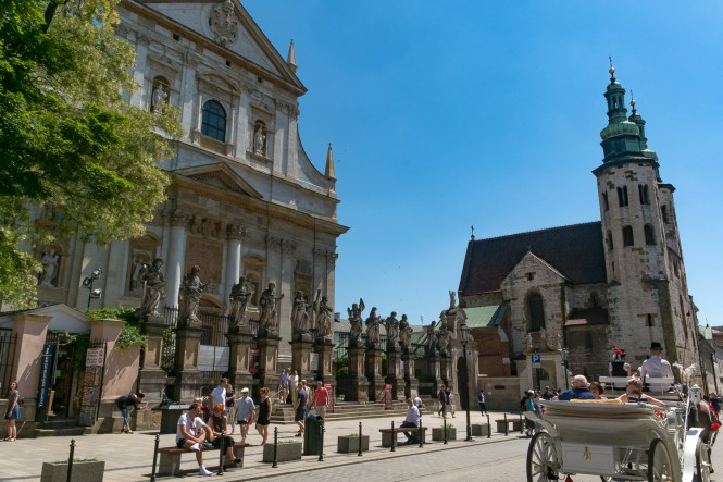 Visiter-cracovie-Eglise-Sainte-Anne