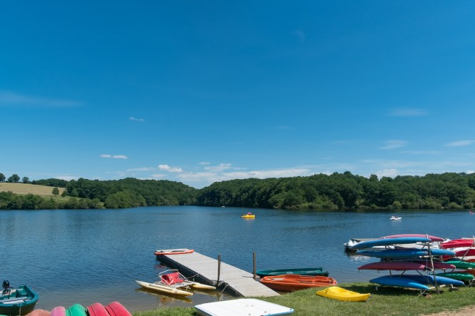 Activités Aquatiques Lac de Sidailles Week end à la campagne dans le Berry