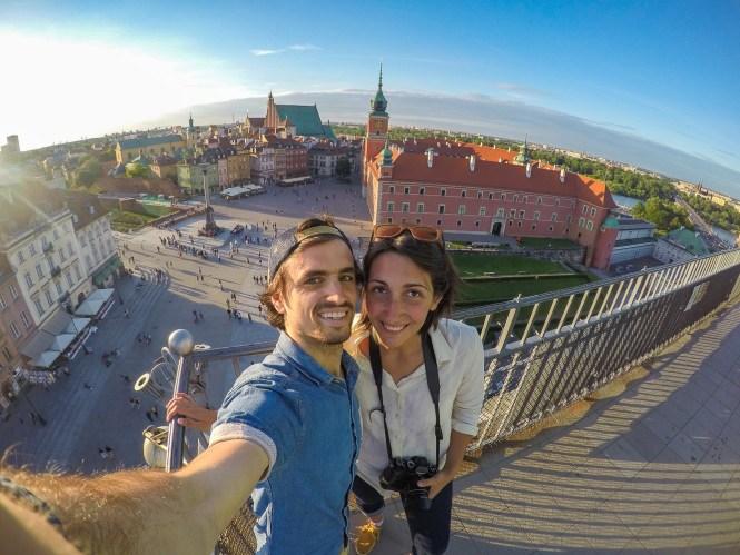 Visiter Varsovie vue ville