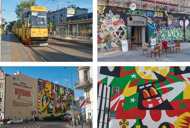 Visiter Varsovie PRAGA street art