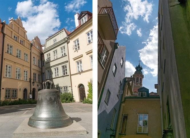 Visiter Varsovie ruelles