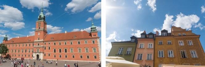Visiter Varsovie Le château royal Zamek Krolewski